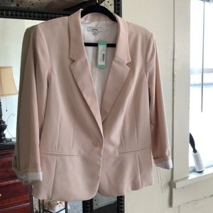 Kensie Jackets & Coats - Kenzie blush XL cardigan NWT